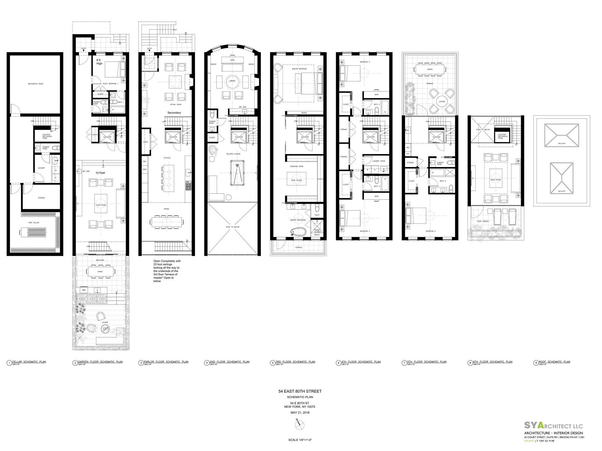 Floor plan of 54 East 80th St - Upper East Side, New York