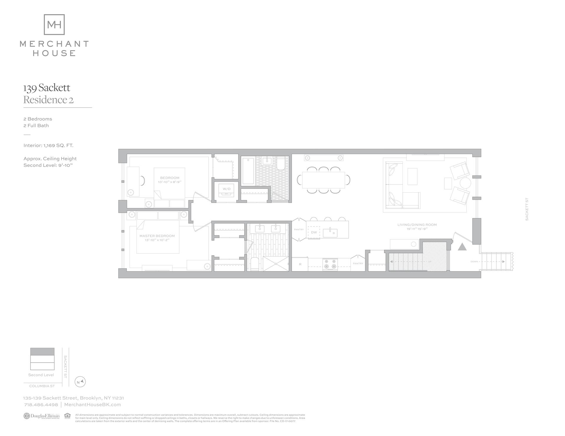 Floor plan of 135-139 Sackett St, 139/2 - Columbia Street Waterfront District, New York
