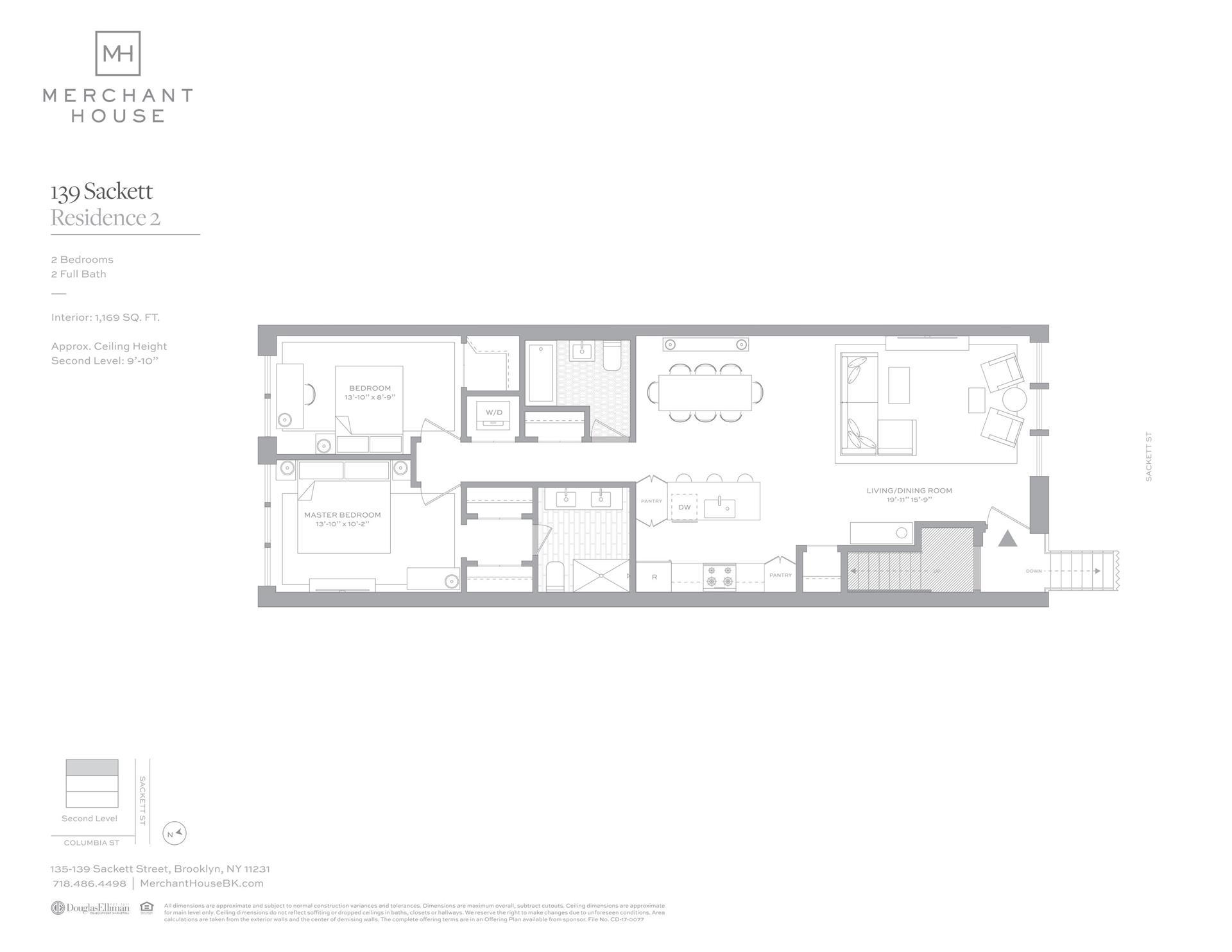 Floor plan of 135-139 Sackett St, 139/2 - Columbia Street Waterfront District, New York