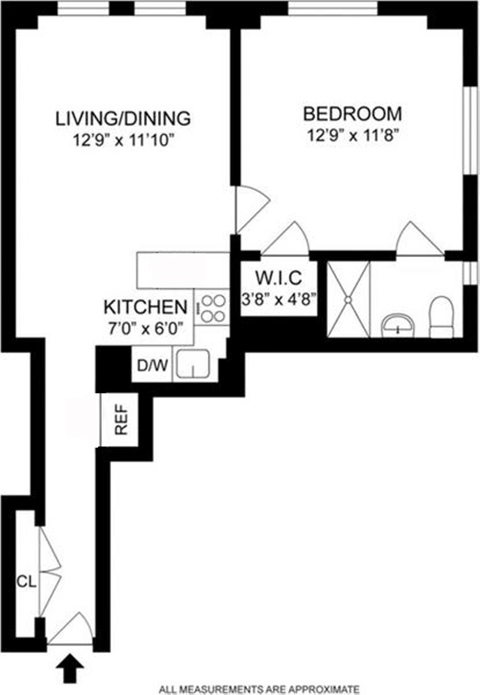 Floor plan of WINDSOR TOWER, 5 Tudor City Pl, 711 - Murray Hill, New York