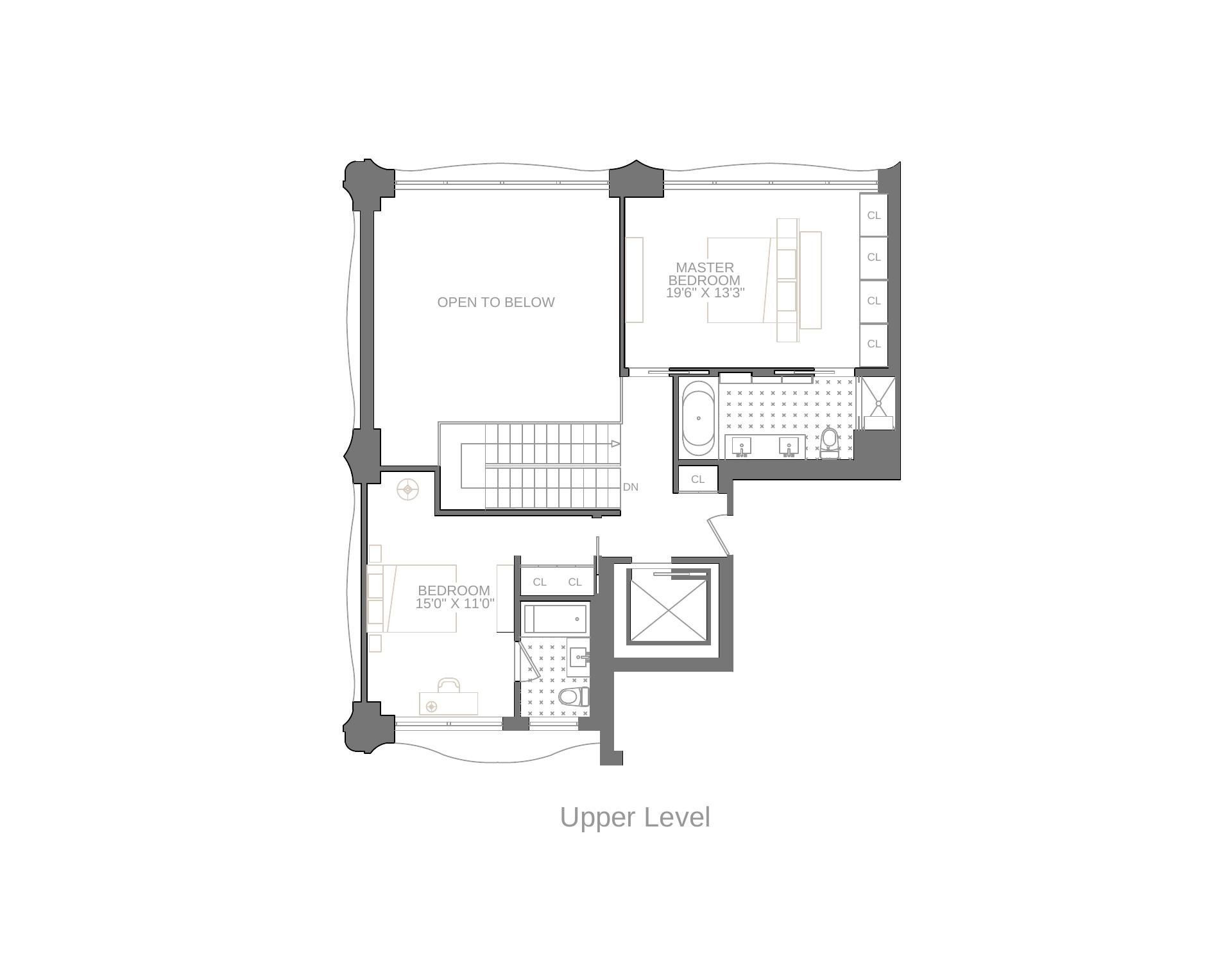 Floor plan of 200 Eleventh Avenue, 5S - Chelsea, New York