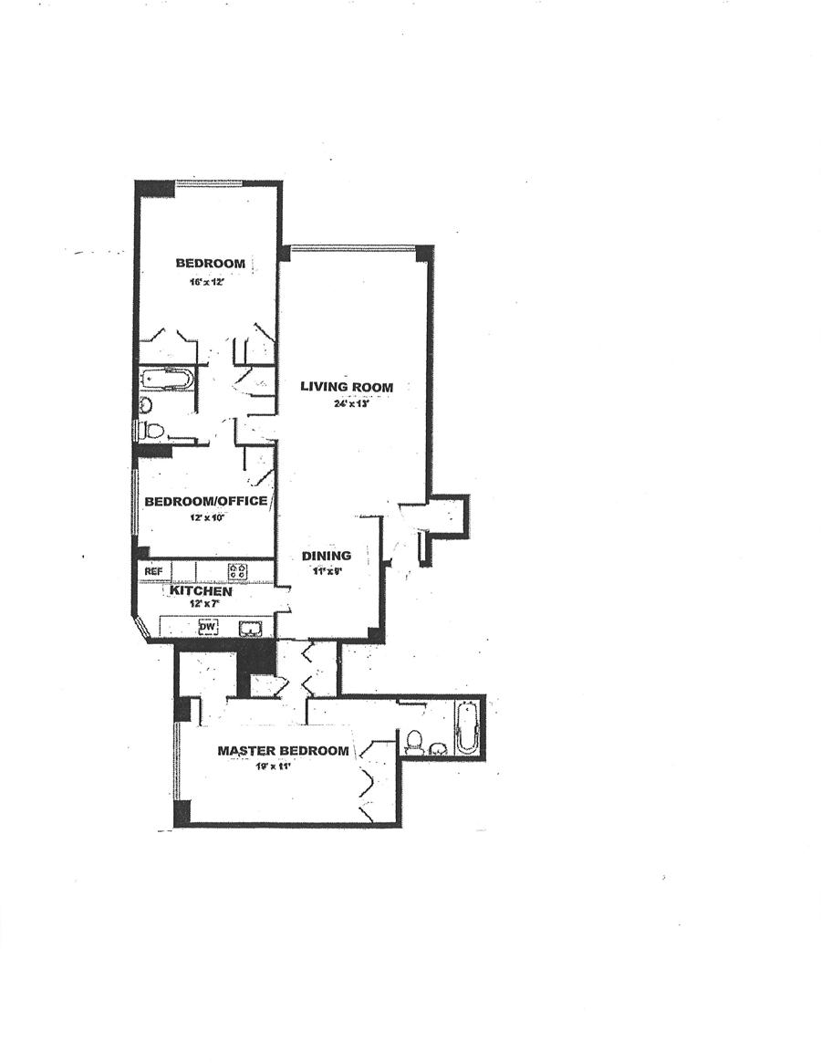 Floor plan of 145 EAST 84 ST, 145 East 84th Street, 7A