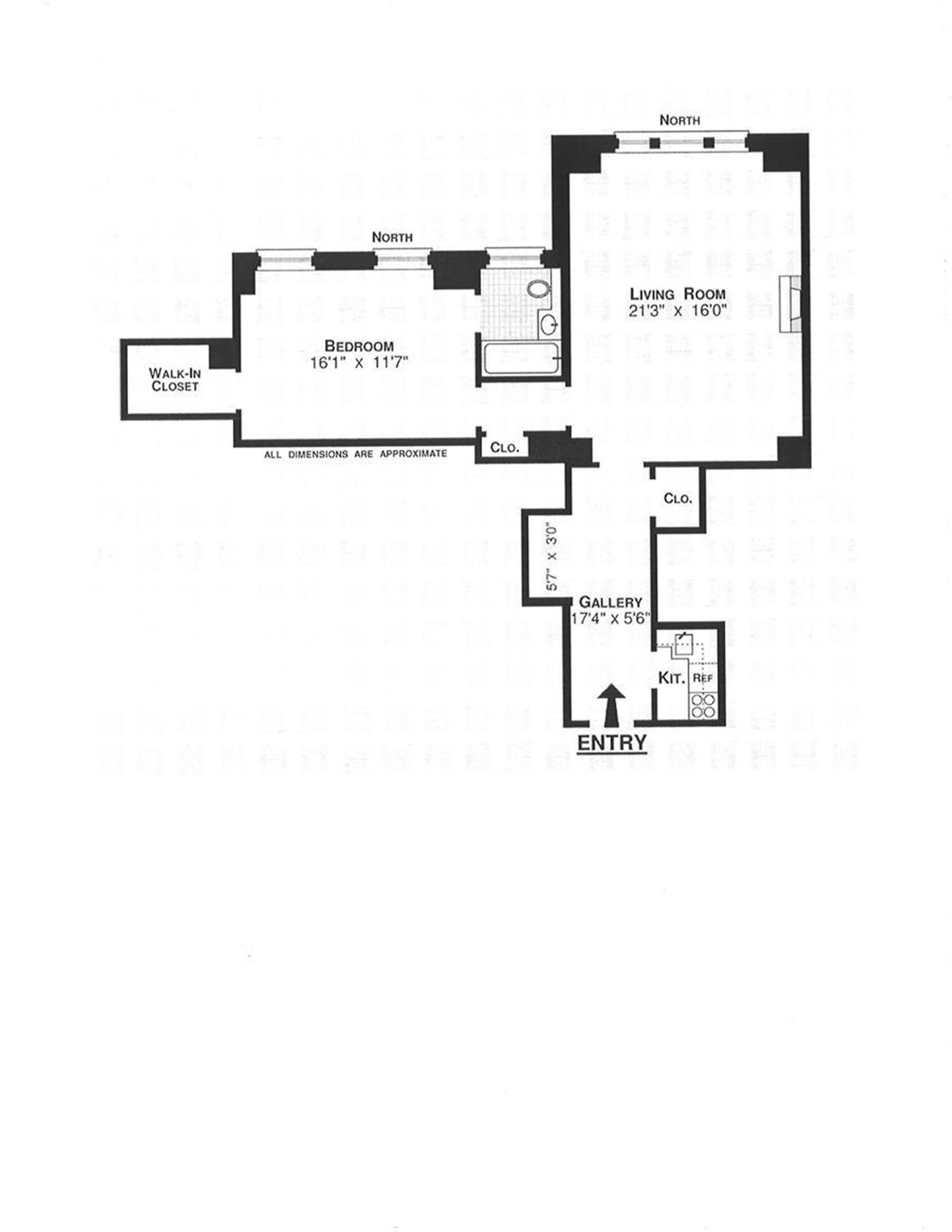 Floor plan of 465 Park Avenue, 12F - Midtown, New York