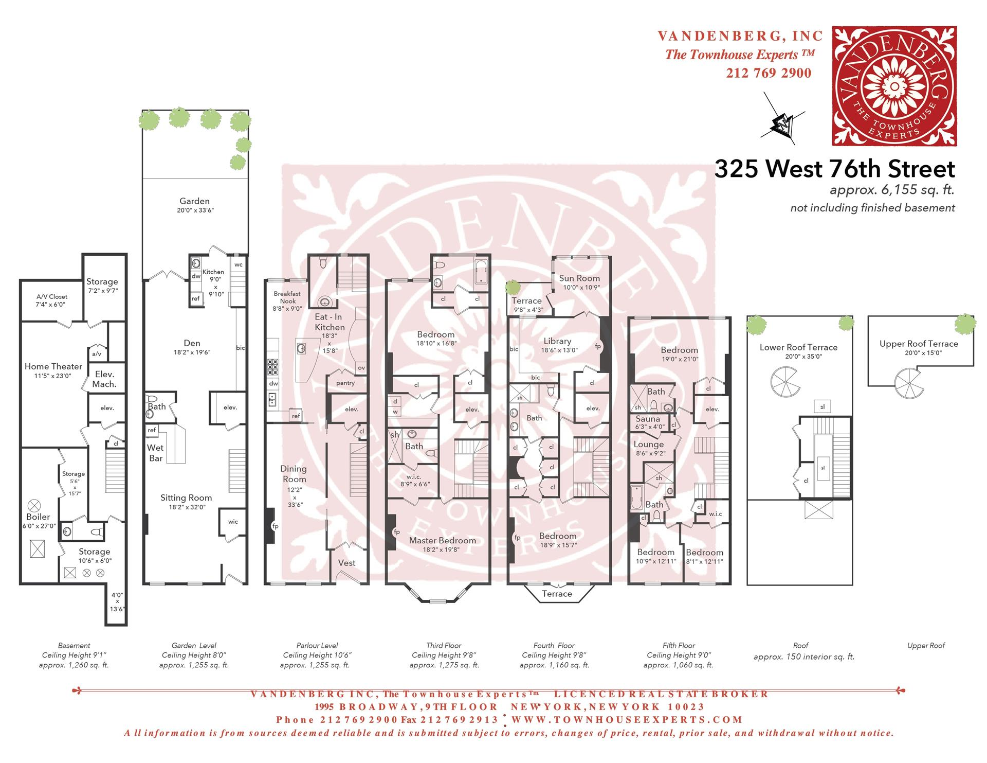 Floor plan of 325 West 76th Street - Upper West Side, New York