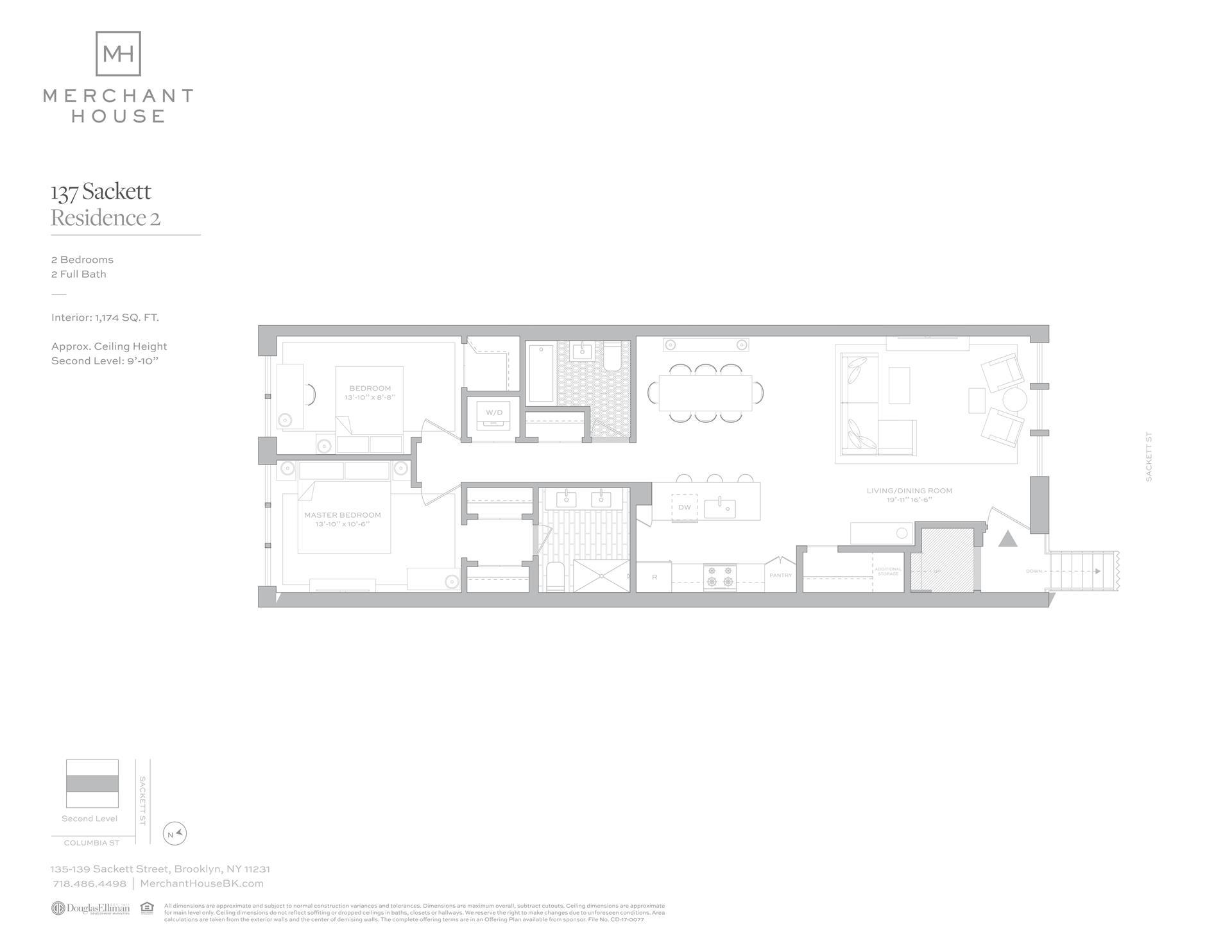 Floor plan of 135-139 Sackett St, 137/2 - Columbia Street Waterfront District, New York