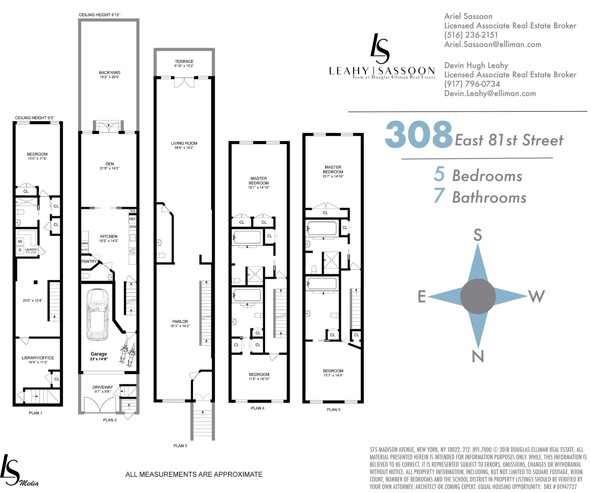 Floor plan of 308 East 81st St - Upper East Side, New York