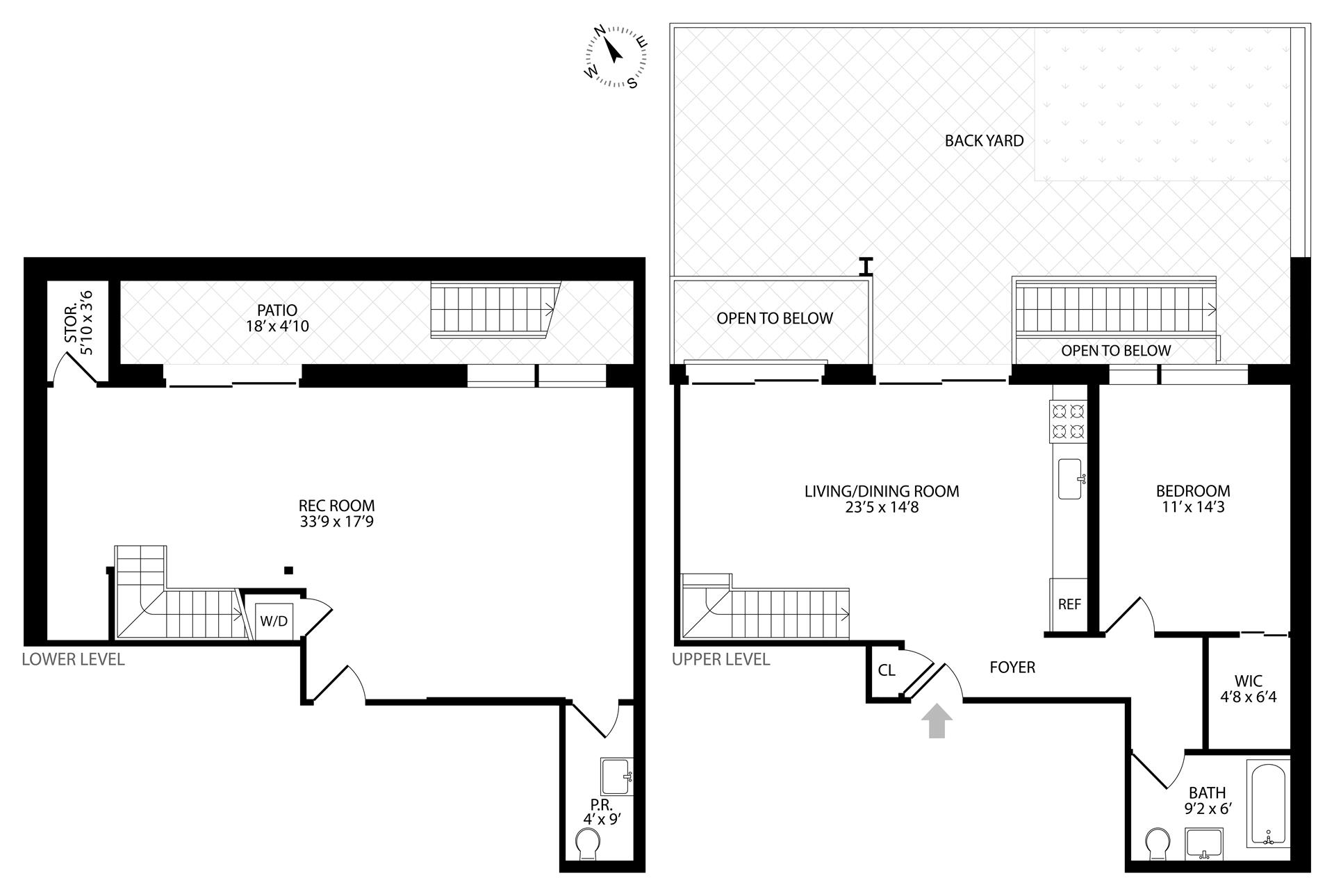 Floor plan of 267 Evergreen Avenue, 1 - Bushwick, New York