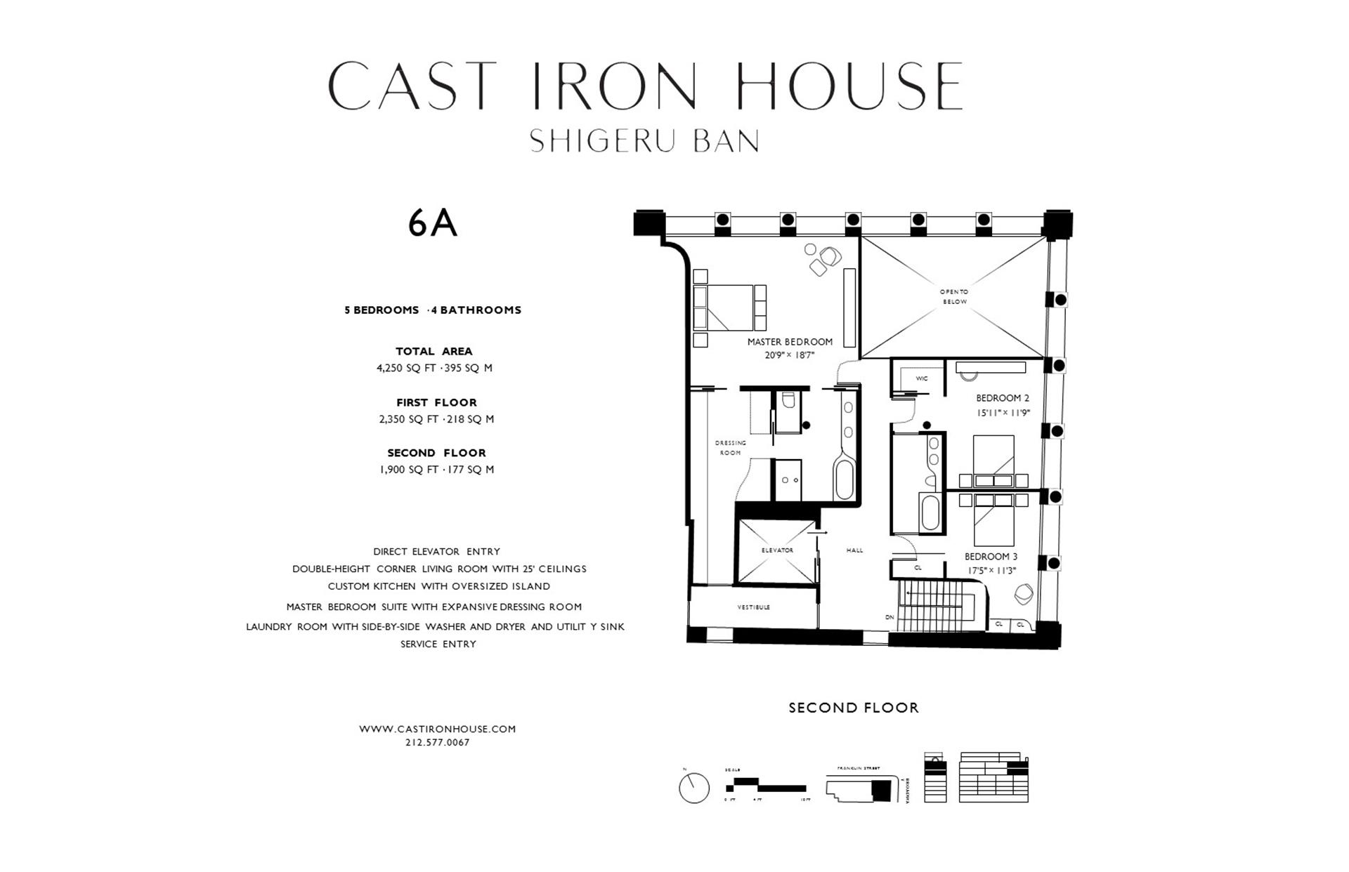 Floor plan of 67 Franklin St, 6A - TriBeCa, New York