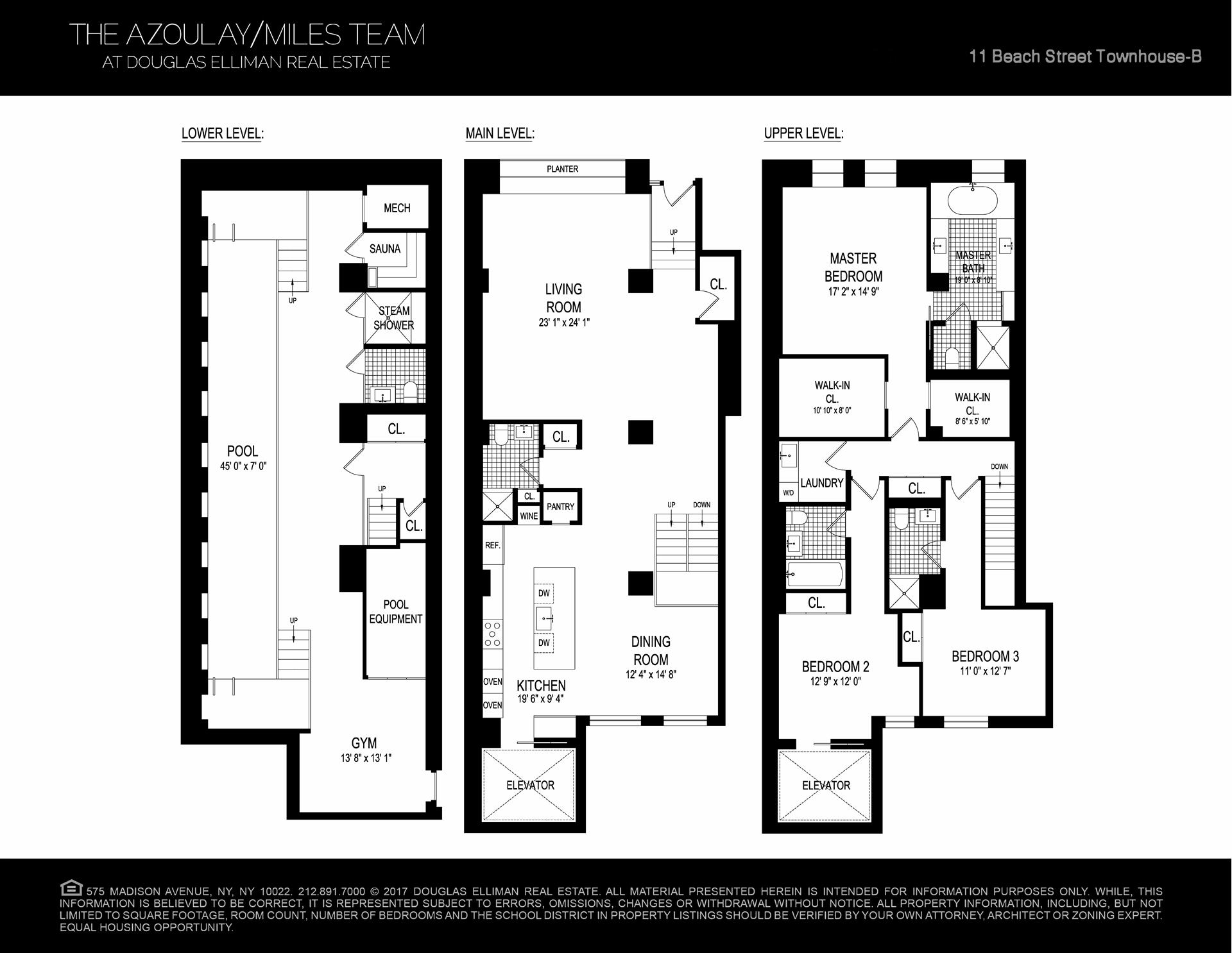 Floor plan of 11 Beach St, THB - TriBeCa, New York