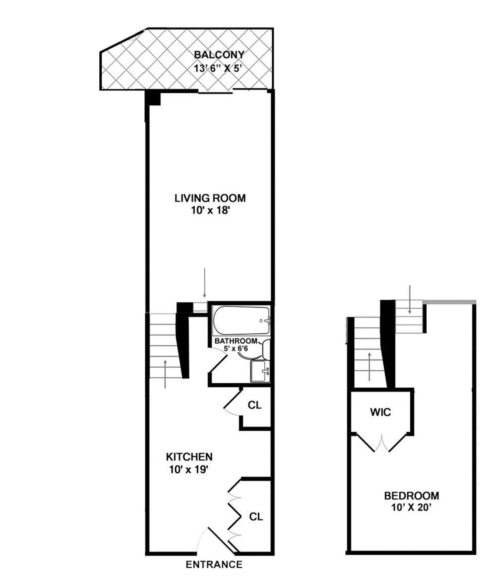 Floor plan of 435 East 86th St, 3B - Upper East Side, New York