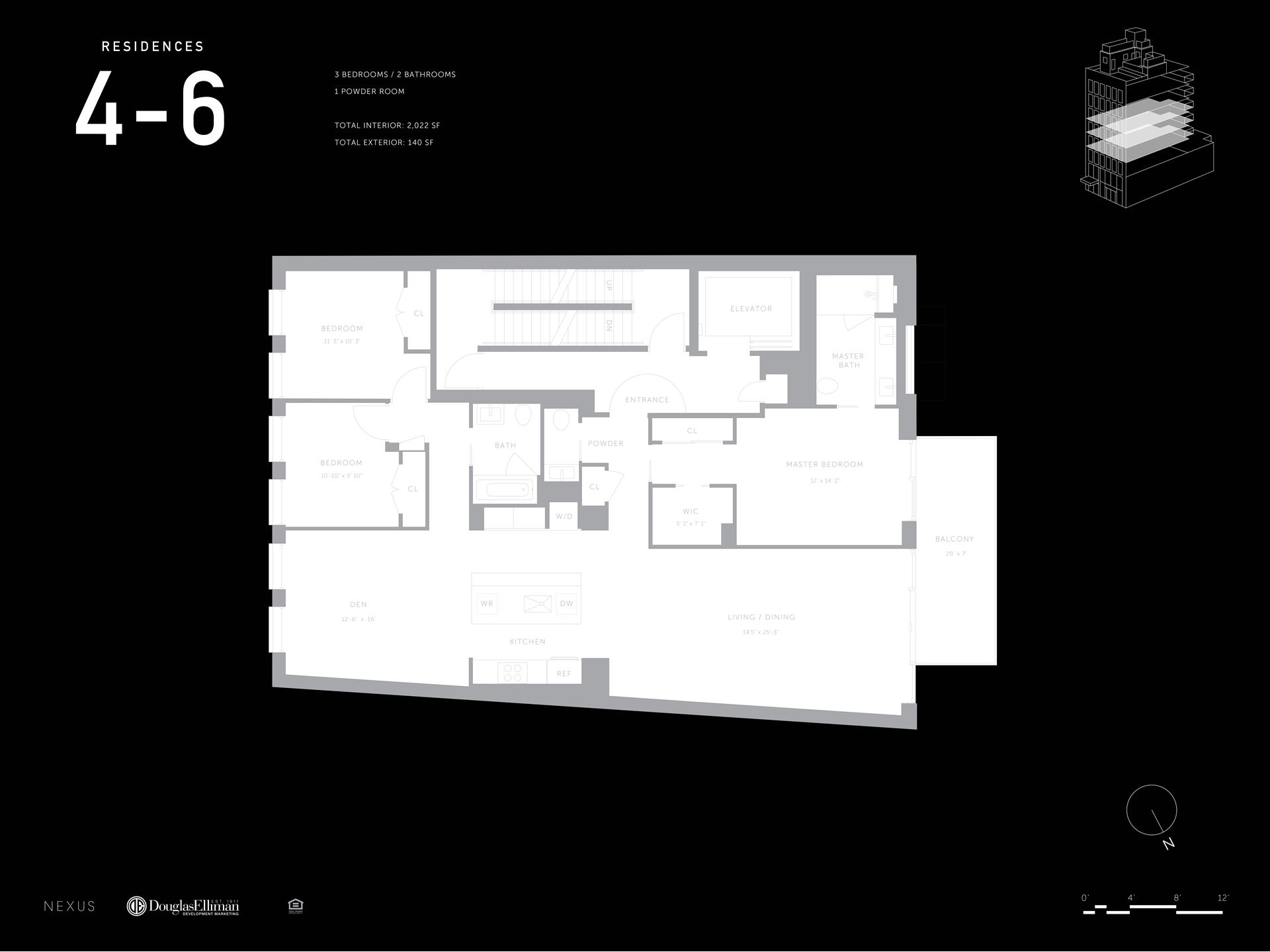 Floor plan of 260 Bowery, 4 - Little Italy - Chinatown, New York