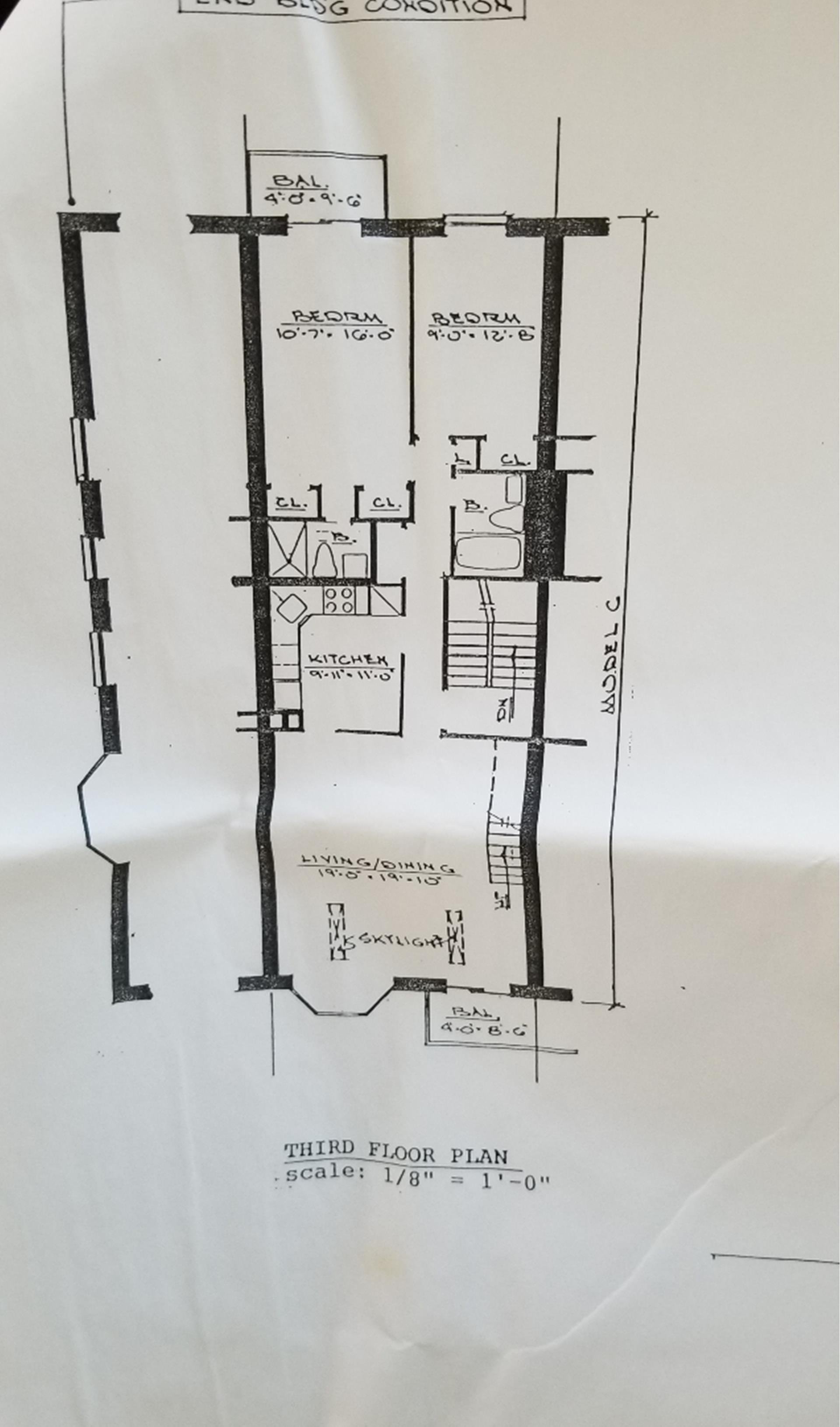 Floor plan of 15 Cove Ln, 3C - Georgetown, New York