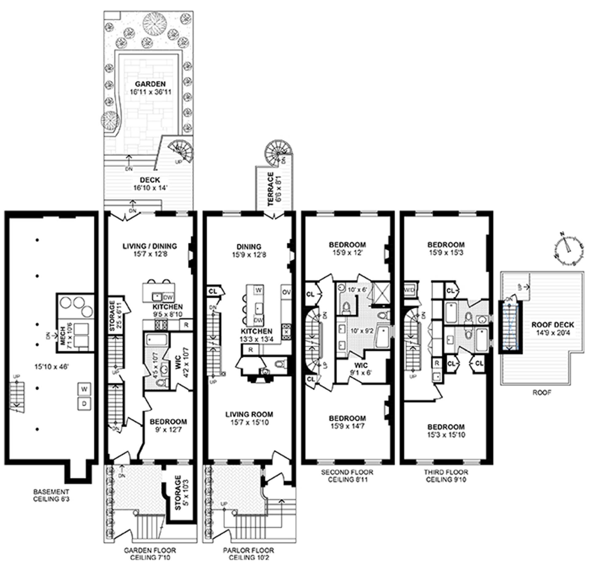 Floor plan of 333 East 65th Street - Upper East Side, New York
