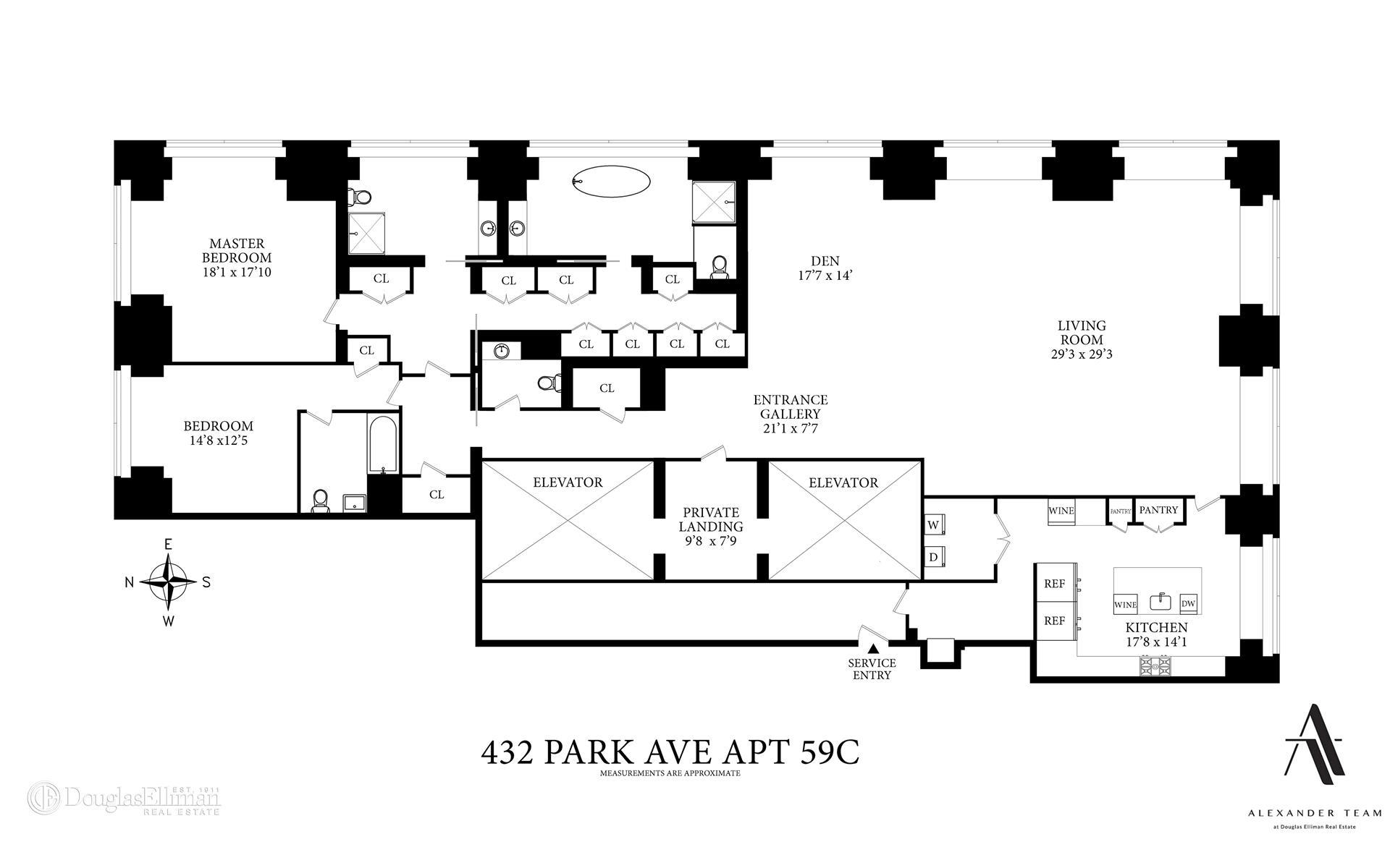 432 Park Avenue Interior Photo