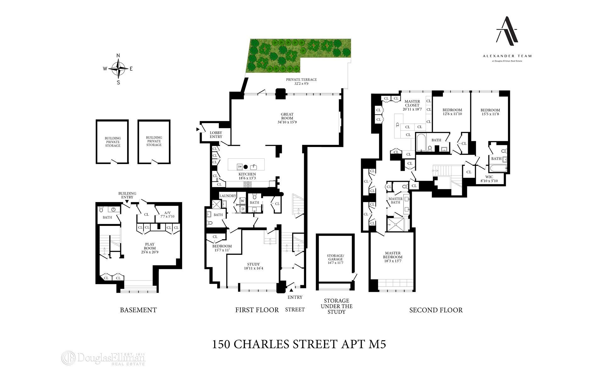 150 Charles Street Interior Photo