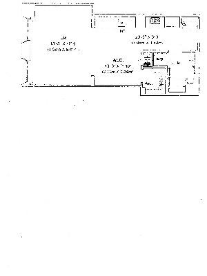 Floor plan of DOWNTOWN BY STARCK, 15 Broad Street, 1708