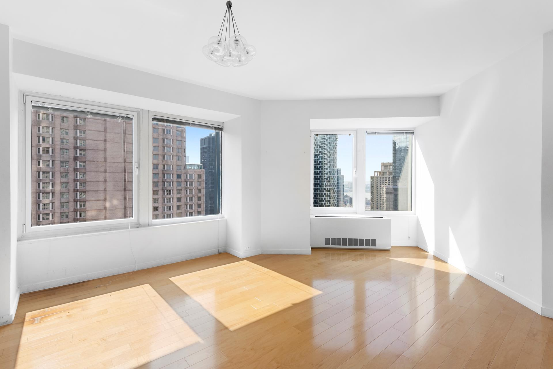 No brokers FeeSEMI FURNISHED or Unfurnished 1 Bed/1.5 Bath recently GUT renovated.Furnished or unfurnished 1-Bedroom, 1.5 Bath home with breathtaking views of NYC skyline in a full-service building.New Kitchen with top-of-the-line appliances and new floors installed recently.Live in luxuryThe full service building offers a swimming pool, gym, yoga room, conference room, sauna/steam room, a party room, and a children's playroom!There is also a garage in the building.Contact us for a private showing today
