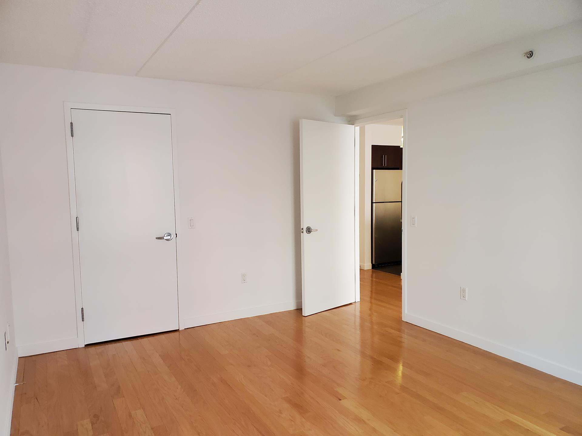 This bright and spacious huge one bedroom home is located in a 24-hour, full-service doorman building in prime West Chelsea.  When you enter the building, you are greeted with a doorman/concierge, waiting area that proceeds to the elevators and a soothing   water fall.   Upon entering into this tranquil apartment, you will be greeted with a large open floor plan. The kitchen features granite countertops, full-size stainless steel appliances, and plenty of storage. Apartment has a washer and dryer in the unit.    There is a lounge area, a full gym and common outside garden area.  This full-service luxury condominium is steps away from the High Line, Hudson River Park as well as Chelsea Piers.  Chelsea has new vibrant galleries, tons of new great restaurants are there   to explore.    Welcome to your new home!