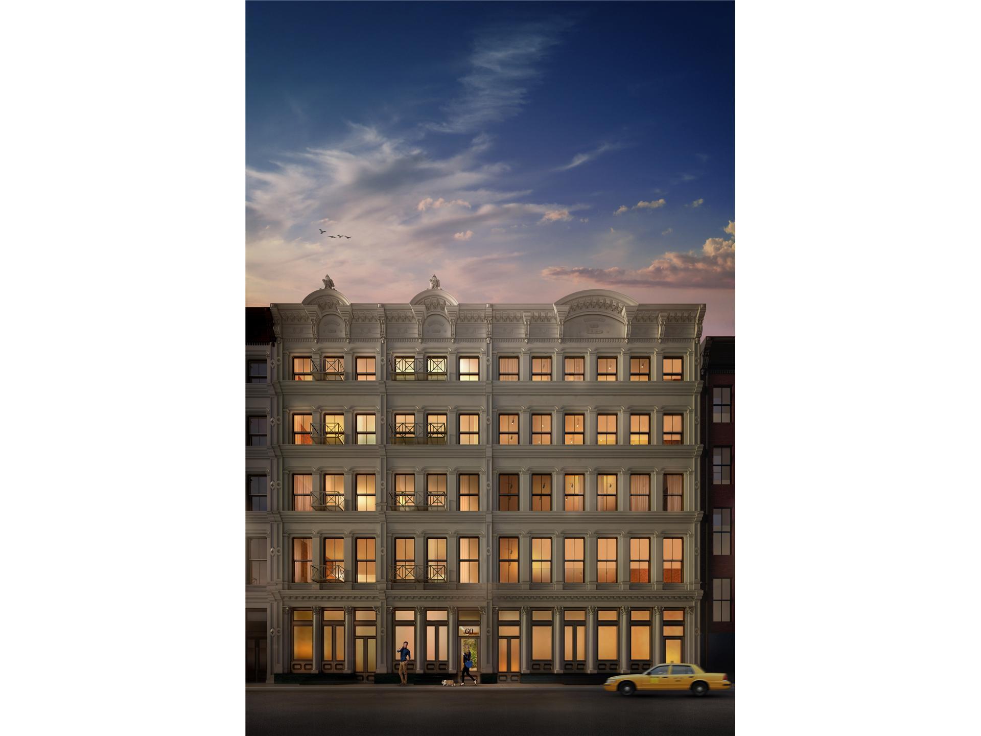 Condominium for Sale at 60 White Street New York, New York 10013 United States