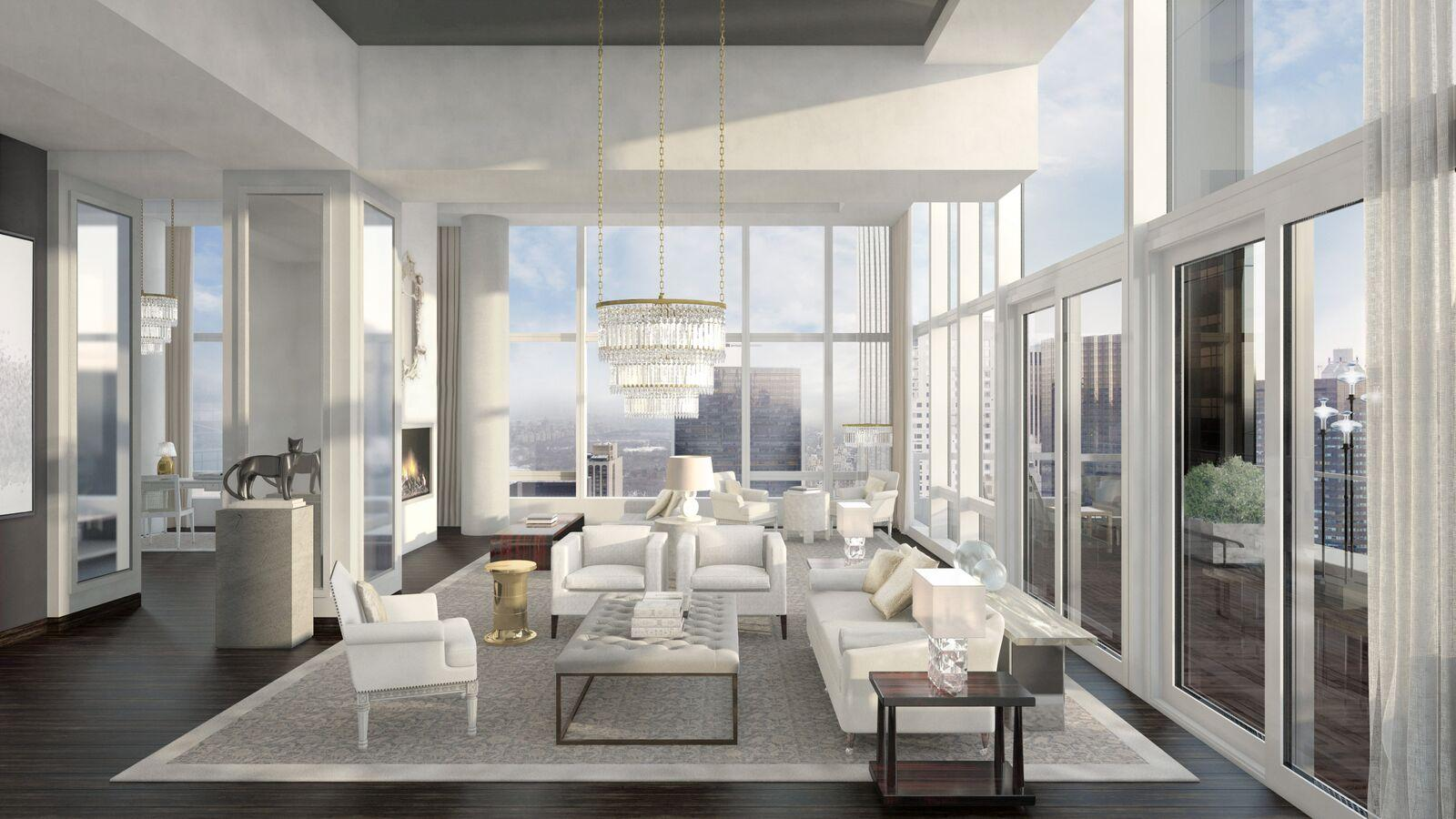 Condominium for Sale at BACCARAT HOTEL & RESIDENCES, Baccarat Hotel & Residences, 20 West 53rd Street New York, New York 10019 United States