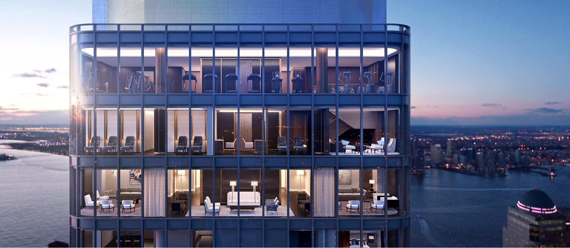 125 Greenwich St, 64D - Financial District, New York