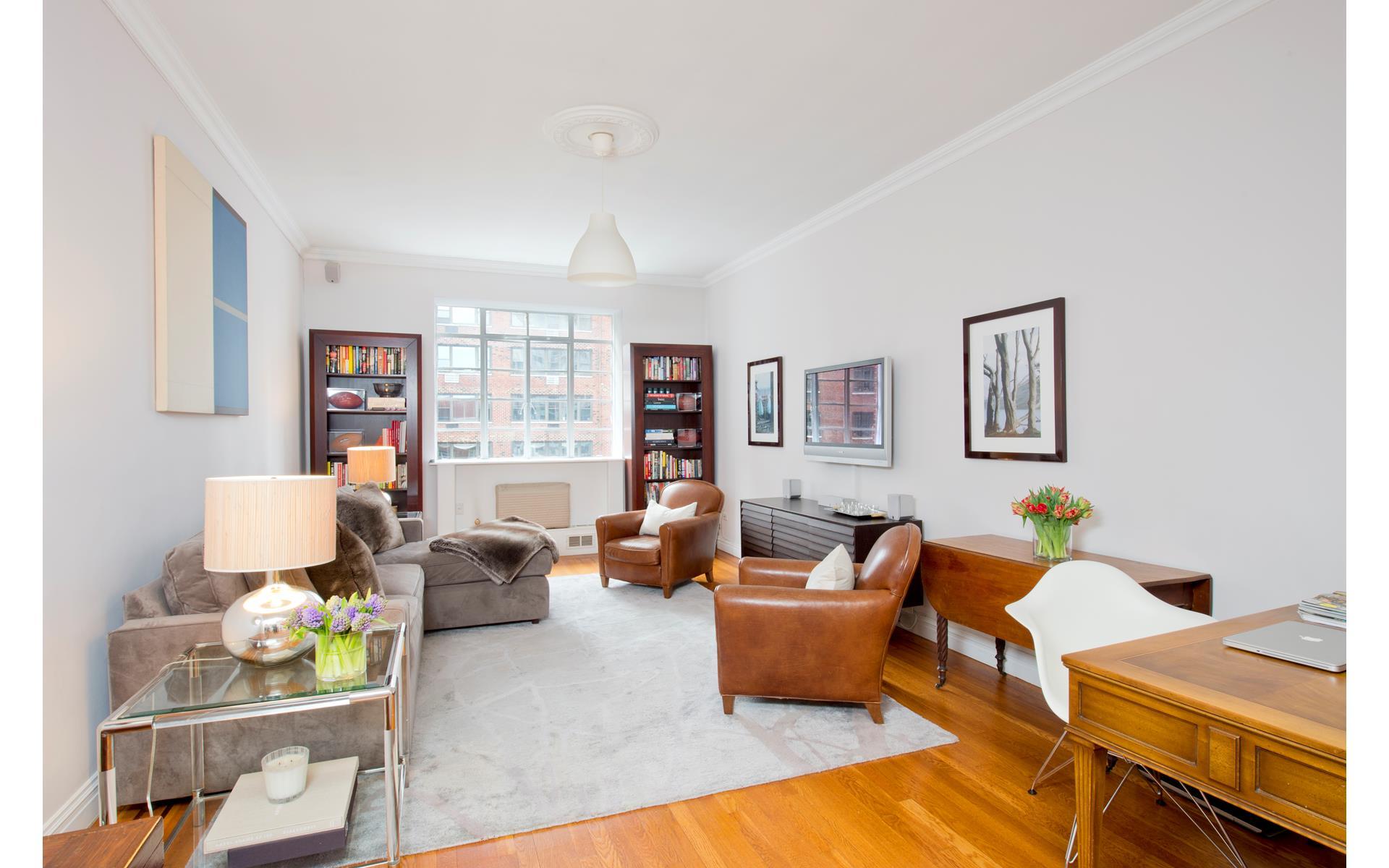 Living Room 86 St 519 e 86 st tenants, 519 east 86th street, 6a - upper east side