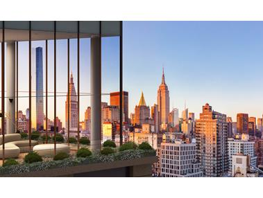 Condominium for Sale at The Tower at Gramercy Square, 215 East 19th Street 16-D 215 East 19th Street New York, New York 10003 United States